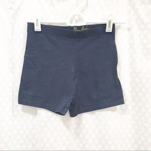 MINI BODEN // navy legging shorts